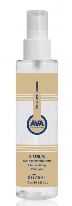KAARAL Сыворотка для защиты волос от термических воздействий с пшеничными протеинами / AAA X-FORM 100 мл