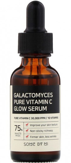 SOME BY MI Сыворотка выравнивающая с галактомисисом и витамином С / Galactomyces Pure Vitamin C 30 мл