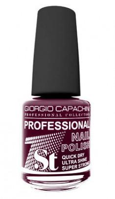 GIORGIO CAPACHINI 49 лак для ногтей, горячий шоколад / 1-st Professional 16 мл