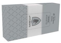 SAFE & CARE Перчатки нитриловые, серебристые, размер М / Safe & Care 100 шт