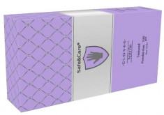 SAFE & CARE Перчатки нитриловые, перламутровые фиолетовые, размер М / Safe & Care 100 шт