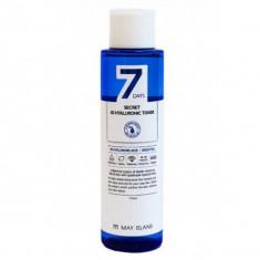 тонер для лица с гиалуроновой кислотой may island seven days secret 4d hyaluronic toner
