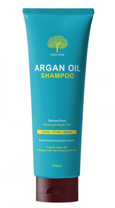 EVAS Шампунь аргановый для волос / Char Char Argan Oil Shampoo 100 мл