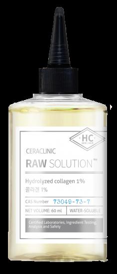 EVAS Сыворотка универсальная для волос и кожи Коллаген / CERACLINIC Raw Solution Hydrolyzed Collagen 1% 60 мл