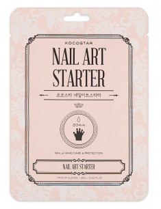 KOCOSTAR Маска двойная для рук и ногтей, питание и защита / Nail Art Starter 1 шт