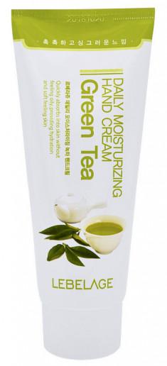 LEBELAGE Крем увлажняющий с экстрактом зеленого чая для рук 100 мл