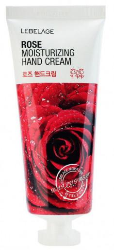 LEBELAGE Крем увлажняющий с экстрактом розы для рук 100 мл