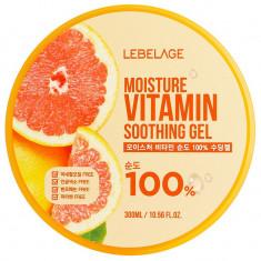 LEBELAGE Гель увлажняющий успокаивающий с витаминами 300 мл