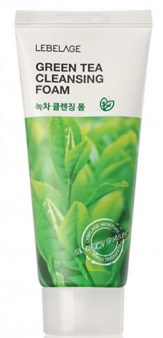 LEBELAGE Пенка с экстрактом зеленого чая для умывания 100 мл
