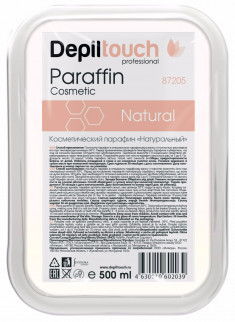 DEPILTOUCH PROFESSIONAL Парафин в ванночке, натуральный / Depiltouch professional 500 мл