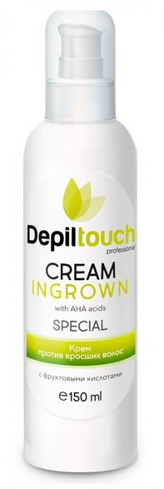 DEPILTOUCH PROFESSIONAL Крем с фруктовыми альфа-гидрокислотами против вросших волос / Depiltouch professional 150 мл