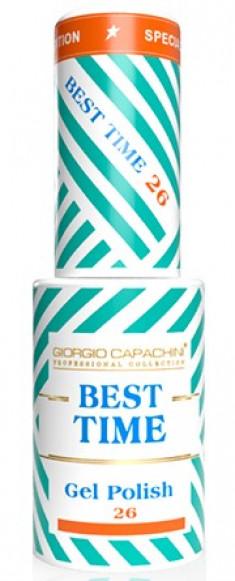 GIORGIO CAPACHINI 26 гель-лак трехфазный для ногтей / BEST TIME 8 мл