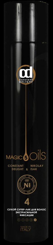 CONSTANT DELIGHT Лак сухой экстрасильной фиксации для волос №4, без запаха / Style 400 мл