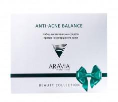 ARAVIA Набор против несовершенств кожи (гель 150 мл, маска 100 мл, тонер 150 мл) Anti-Acne Balance