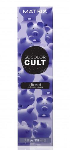 MATRIX Крем-краситель с пигментами прямого действия для волос, пыльный сиреневый / SOCOLOR CULT 118 мл