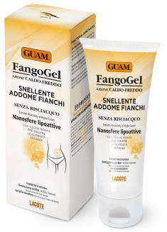 GUAM Гель антицеллюлитный контрастный с липоактивными наносферами для живота и талии / FANGOGEL 150 мл