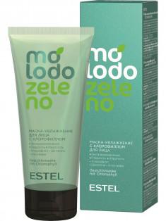 ESTEL PROFESSIONAL Маска-увлажнение с хлорофиллом для лица / Molodo Zeleno 100 мл
