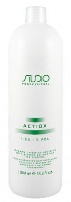 STUDIO PROFESSIONAL Эмульсия окислительная кремообразная с экстрактом женьшеня и рисовыми протеинами 1,5% / ActiOx 1000 мл
