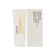 себорегулирующий крем от солнца с высоким фактором защиты lebelage high protection daily no sebum sun cream spf50+pa+++