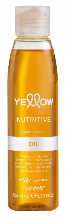 YELLOW Масло увлажняющее для сухих волос / YE NUTRITIVE OIL 125 мл