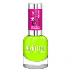 Alvin D'or, Лак-гель Neon Gloss №03