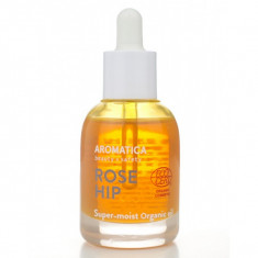 масло для лица aromatica organic rose hip oil