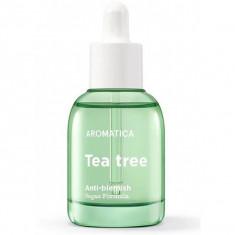 масло для лица с экстрактом чайного дерева aromatica tea tree green oil