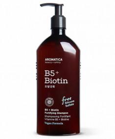 питательный шампунь с витамином в5 и биотином aromatica b5+biotin fortifying shampoo