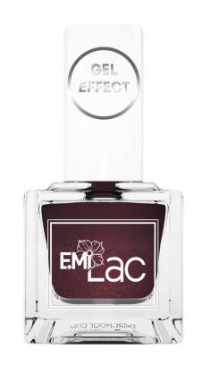 E.MI 078 лак ультрастойкий для ногтей, Горький шоколад / Gel Effect 9 мл
