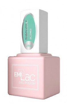 E.MI 198 PR гель-лак для ногтей, Бирюзовая глазурь / E.MiLac 6 мл