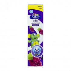 LION Thailand Kodomo паста зубная для детей с 6 месяцев с ароматом винограда, 65 г