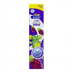 LION Thailand Kodomo паста зубная для детей с 6 месяцев с ароматом винограда, 40 г