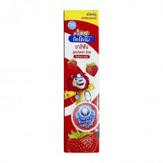 LION Thailand Kodomo паста зубная для детей с 6 месяцев с ароматом клубники, 65 г