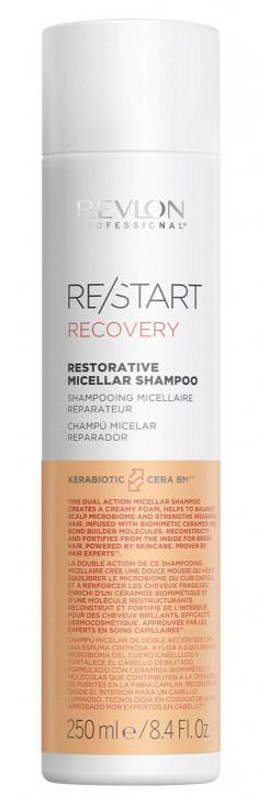 REVLON PROFESSIONAL Шампунь мицеллярный для поврежденных волос / RESTART RECOVERY RESTORATIVE MICELLAR SHAMPOO 250 мл