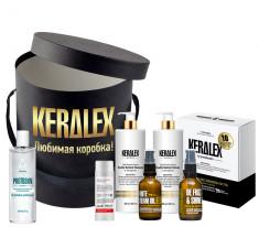PROTOKERATIN Набор профессиональной процедуры восстановления поврежденных волос KERALEX №4
