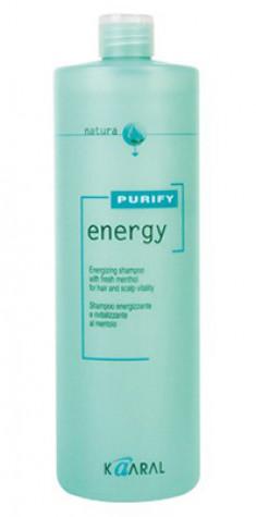 Kaaral Purify Energy Интенсивный энергетический шампунь с ментолом 1000 мл