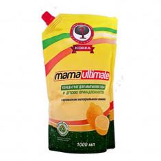 Mama Ultimate Лимон Концентрат для мытья посуды 1000мл запасной блок