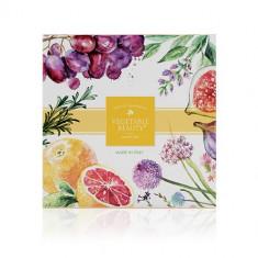 Vegetable Beauty подарочный набор натурального мыла №2 Виноград Инжир Цветы Розмарин