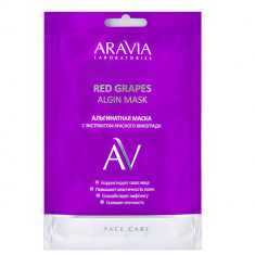Aravia Laboratories Маска альгинатная с экстрактом красного винограда Red Grapes Algin Mask 30 г Aravia professional