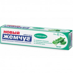 Новый жемчуг Зубная паста с соком Алоэ 100мл НОВЫЙ ЖЕМЧУГ