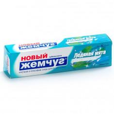 Новый жемчуг Зубная паста Ледяная мята + отбеливание 100мл НОВЫЙ ЖЕМЧУГ
