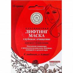 Малавит лифтинг-маска альгинатная глубокое очищение 15г МАЛАВИТ