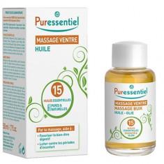 Puressentiel Комплекс масел для массажа живота 15 эфирных масел 50 мл