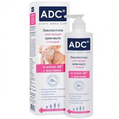 ADC эмолентное смягчающее крем-мыло с липидами для детей и взрослых 200мл