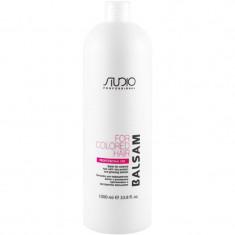 Kapous Бальзам для окрашенных волос с рисовыми протеинами и экстрактом женьшеня 1000мл