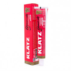 Klatz GLAMOUR ONLY Зубная паста для девушек Земляничный смузи без фтора 75мл