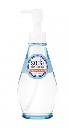 HOLIKA HOLIKA Масло гидрофильное для лица Сода Ток Ток Клин Пор / Soda Tok Tok Clean Pore Deep Cleansing Oil 150 мл