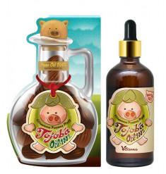 ELIZAVECCA Масло жожоба для кожи / Farmer Piggy Jojoba Oil 100% 100 мл
