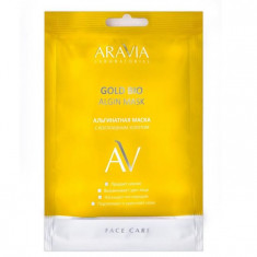 Aravia Laboratories Маска альгинатная с коллоидным золотом Gold Bio Algin Mask 30 г Aravia professional