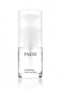 База под макияж матирующая Paese MATTIFYING UNDER MAKE-UP BASE 15мл